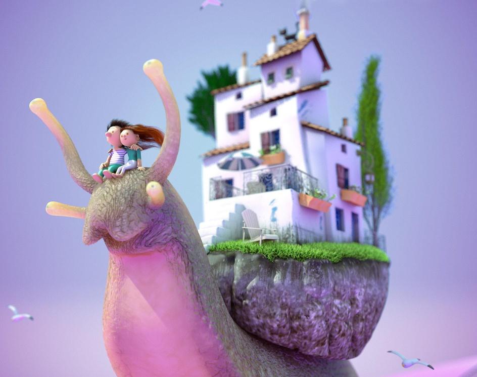 Travel snailby Matt Roussel