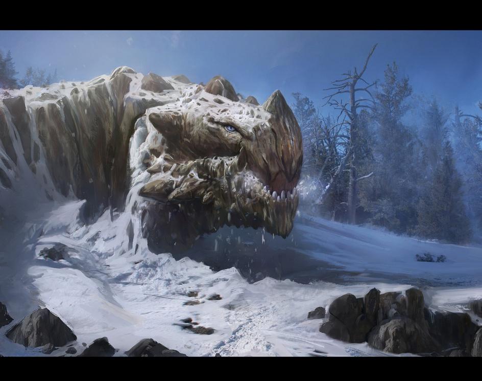 Wake up mountain dragonby maxduran