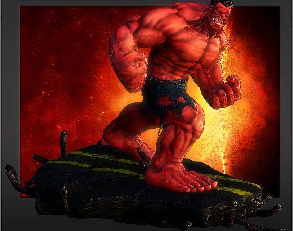 Red Hulkby Maxter1
