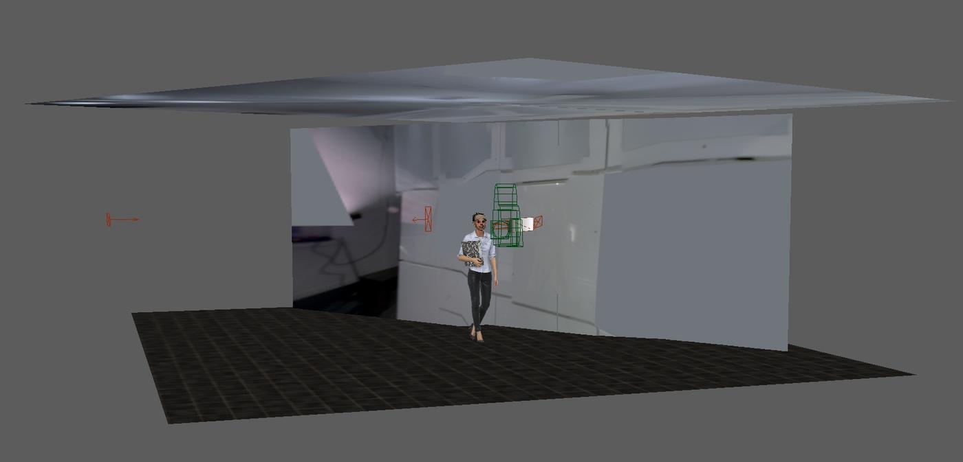 maya scene apartment building imagery 3d rendering