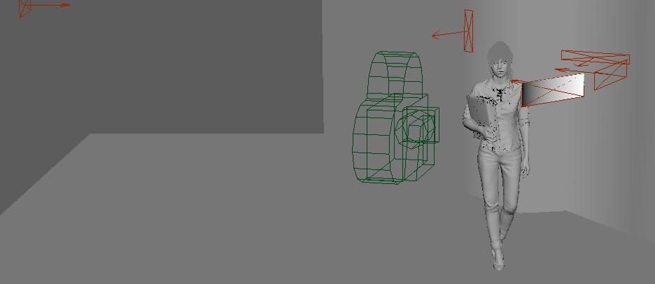 scene lights reference frames 3d modelling