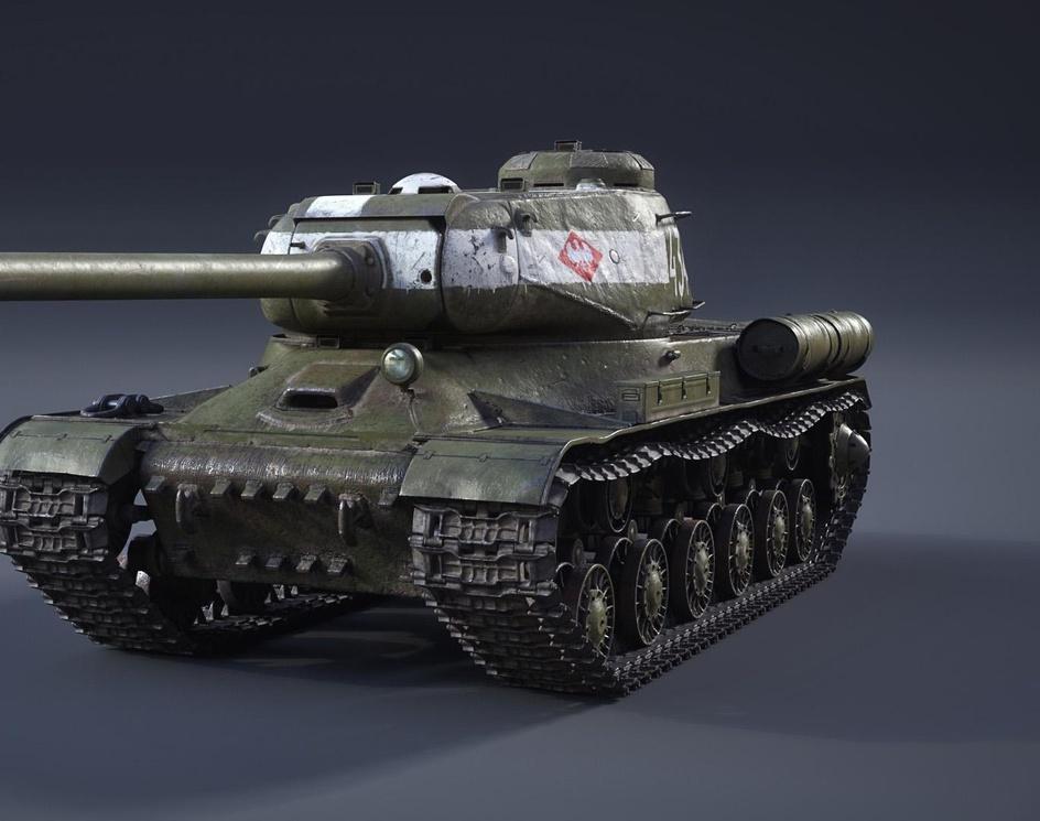 IS-2 1944 Heavy Tankby Piotr Bieryt