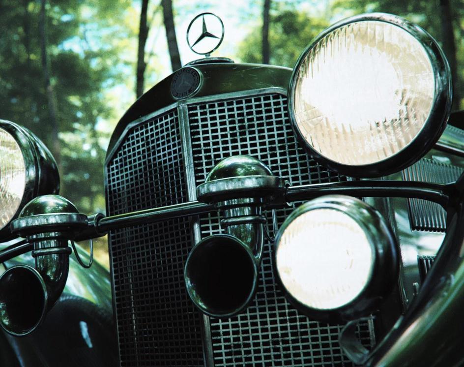 Mercedes Benz SS Roadsterby Aref Razavi
