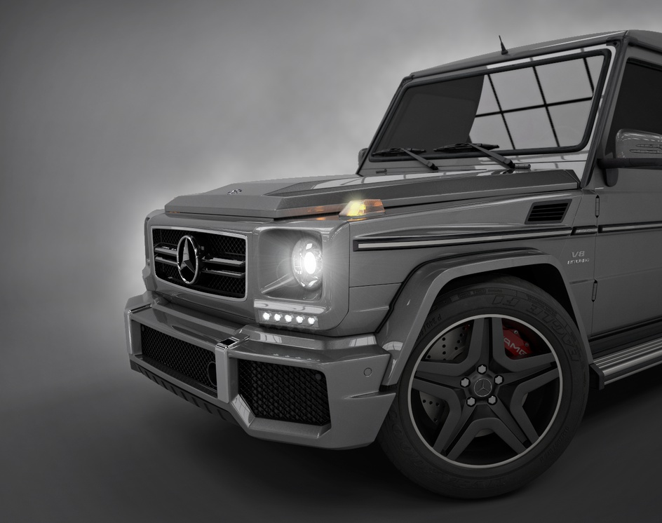 Mercedes G63 - 3D Carby Thiago Oliveira