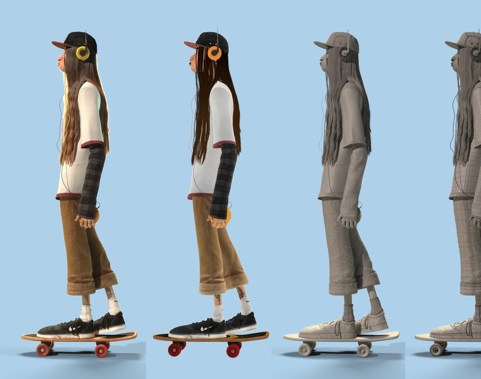 The flaquito patinetoby camilor