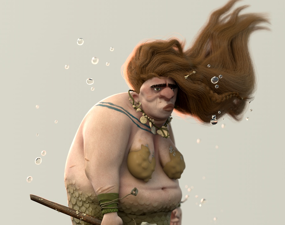 Prehistoric Mermaidby Joel Velasco