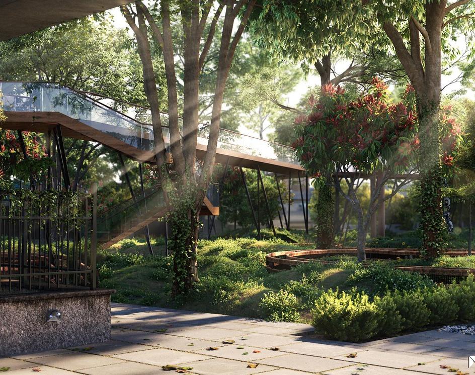 3D Garden Renderingby MGFX World