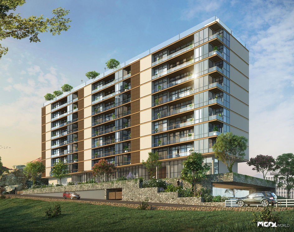 3D Residential Building Designby MGFX World
