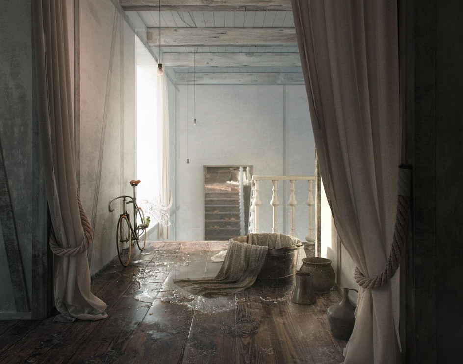 The House is empty nowby Mikhalenko