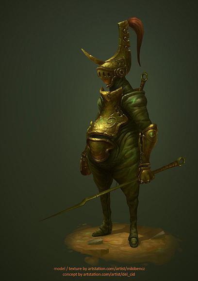 Miki Bencz eduardo character design