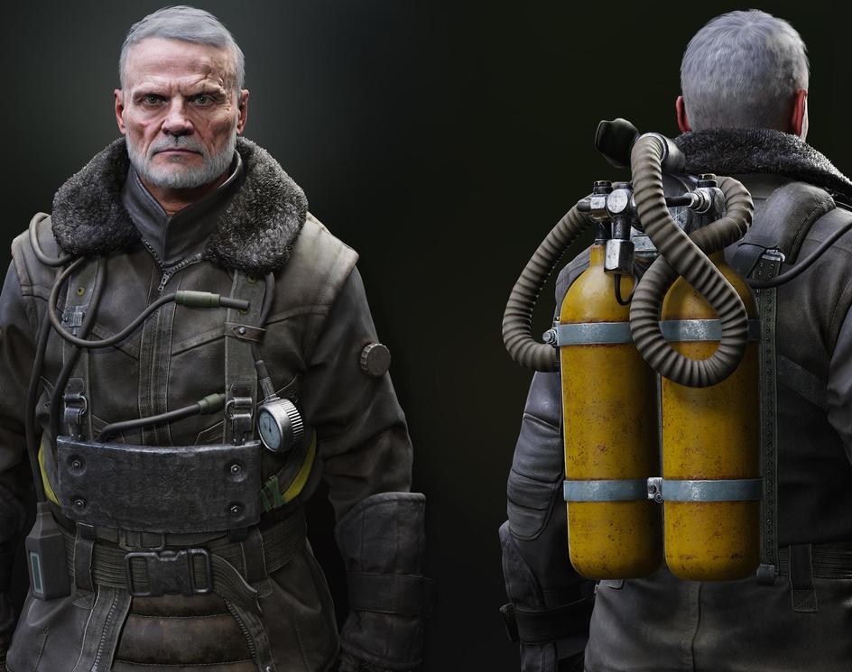 Miller winter suit - Metro Exodusby Gammaun