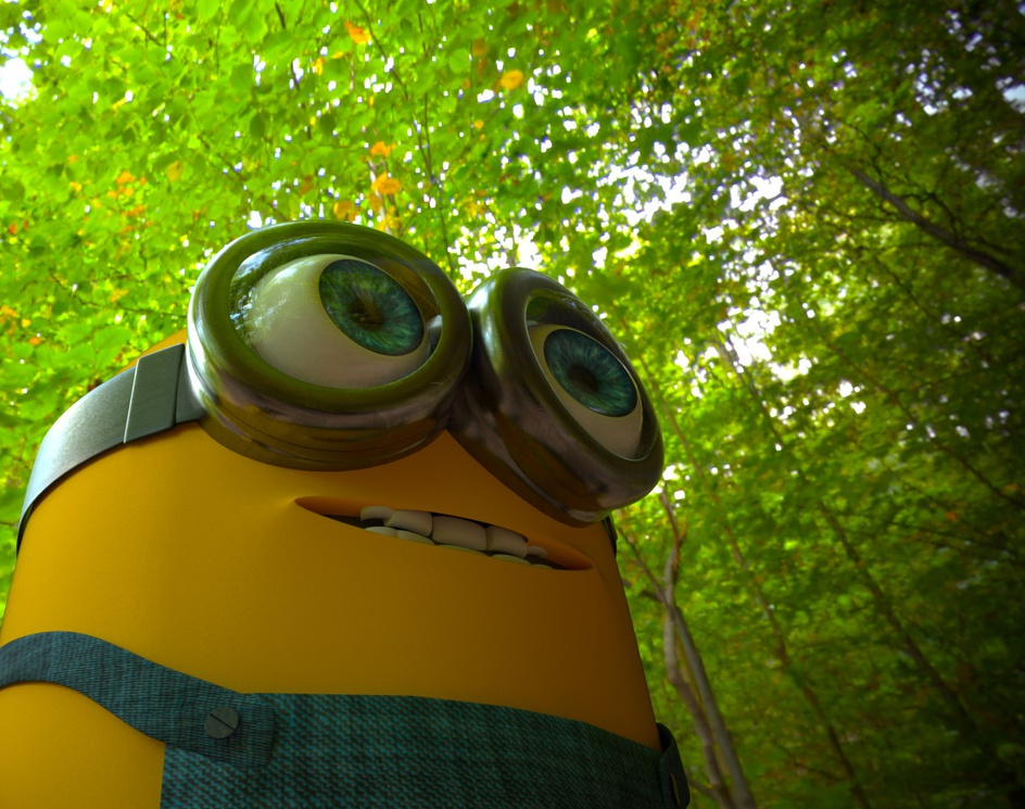 Minion on the Adventureby Ajay dwivedi