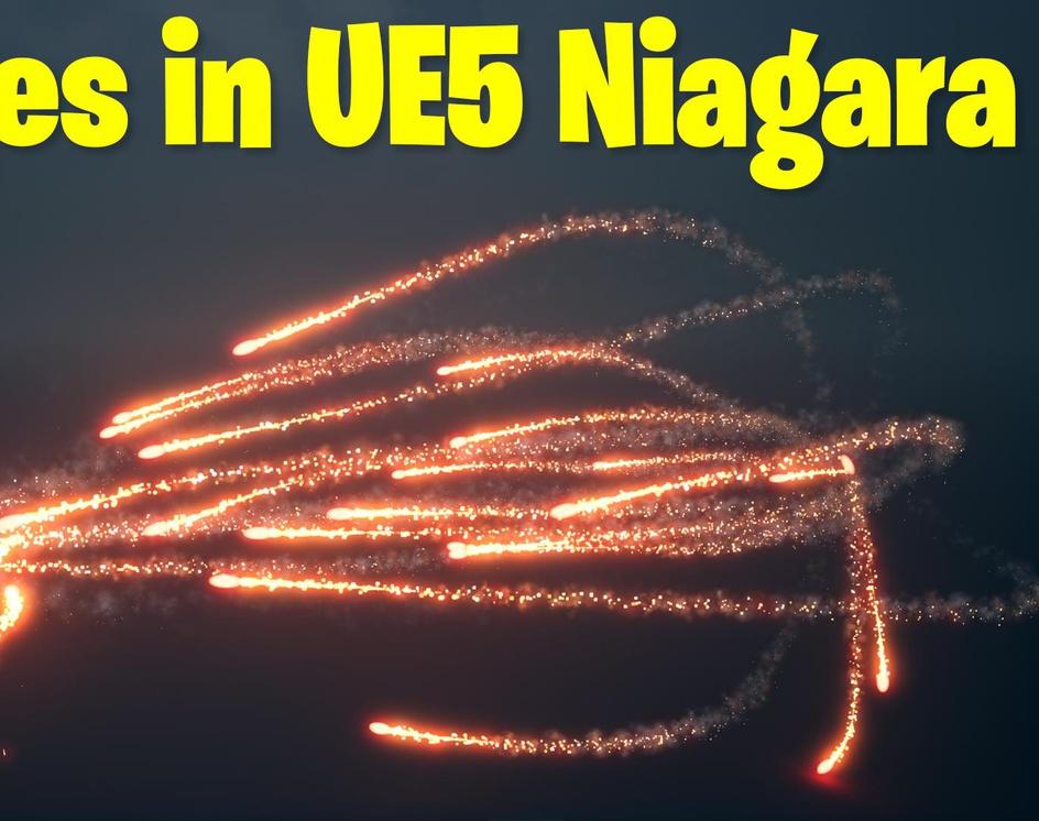 Missile Shooting Aim in UE5 Niagara Tutorial   Download Filesby Ashif Ali