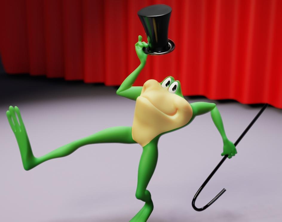 Michigan J. Frogby Blaine Fox