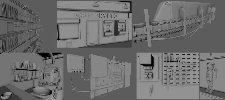 3d model asset detailing sculpting specifics
