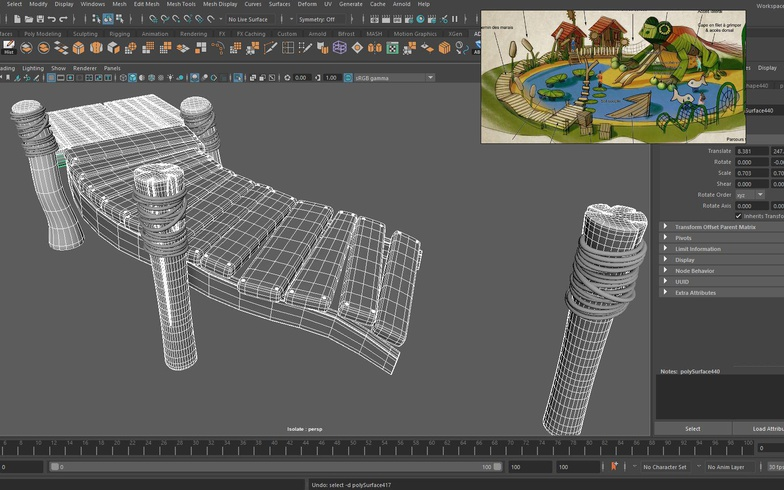 playhouse 3d render setting