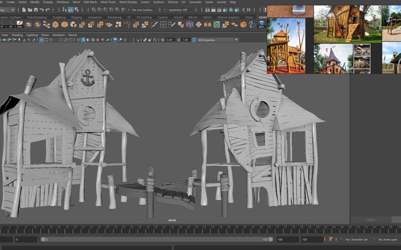 render setting environment playhouse