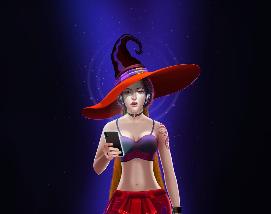 A Modern Day Witchby Ratan Bagul