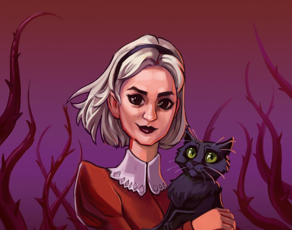 Modern Witch Sabrinaby Stefan Tistu