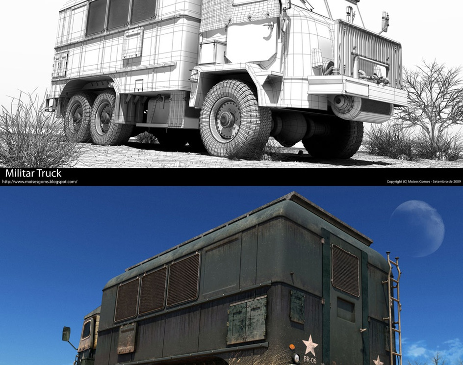 Military Truckby Moises Gomes