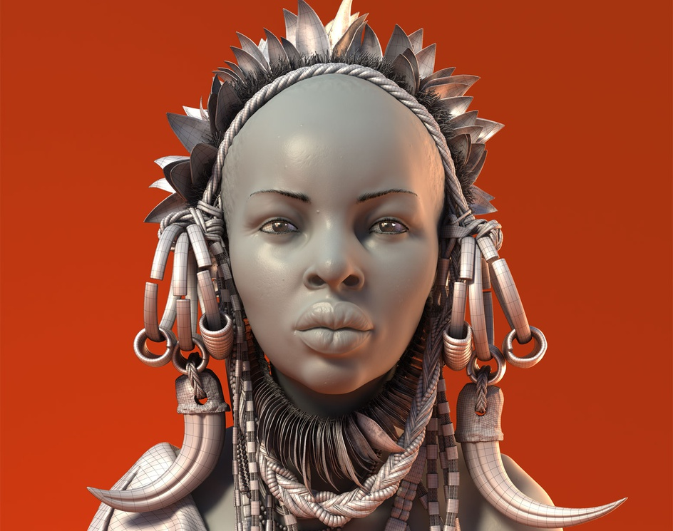 African Women - Wireby Moises Gomes