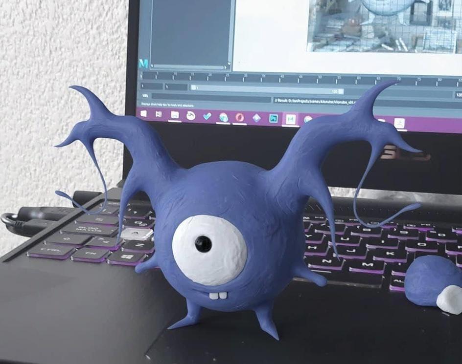 Tiny monster (Ño)by Jan Rosales