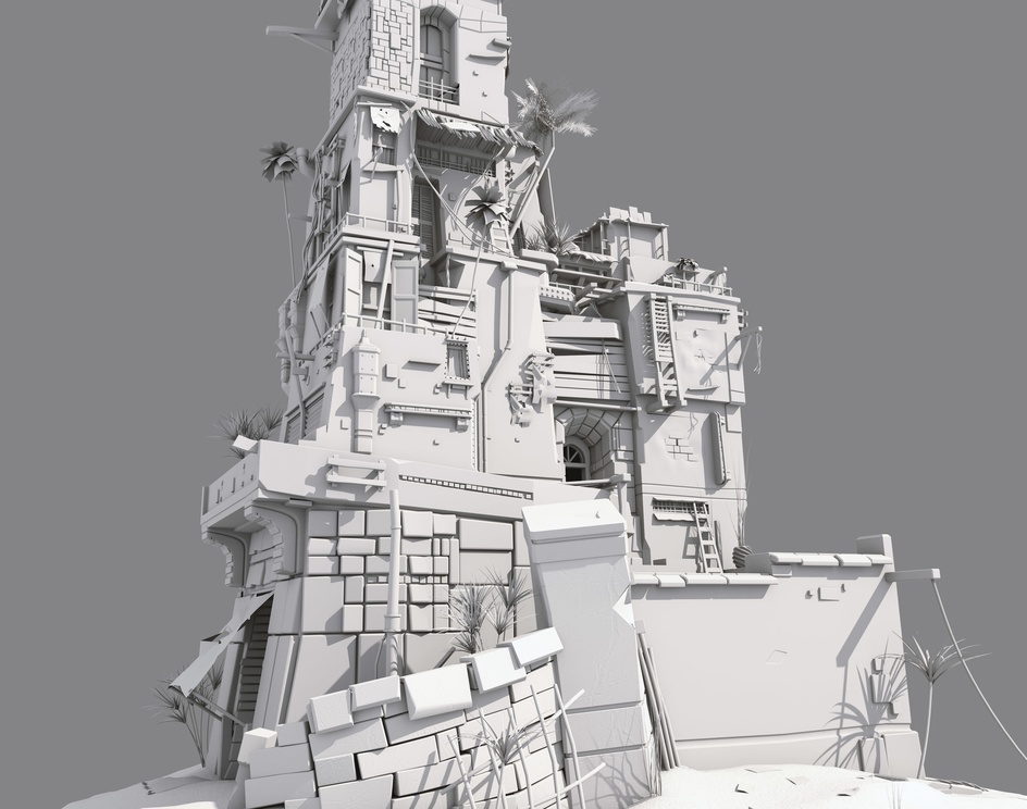 Modeling Experiment #1by Moustafa Shaheen