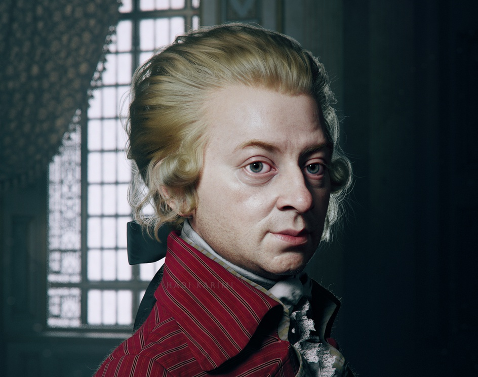 Wolfgang Amadeus Mozartby Hadi Karimi