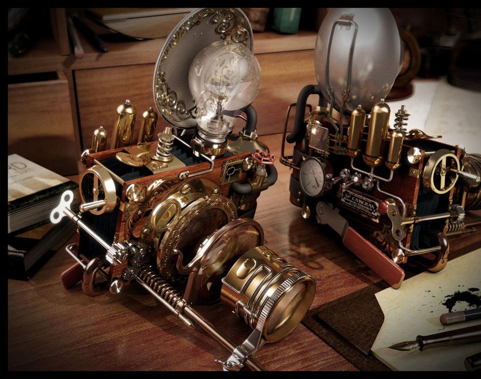 'Steampunk Camera'by mrgrotey
