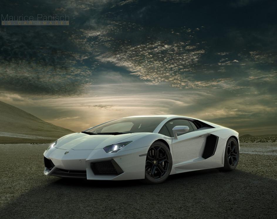 Lamborghini Aventadorby Maurice Panisch