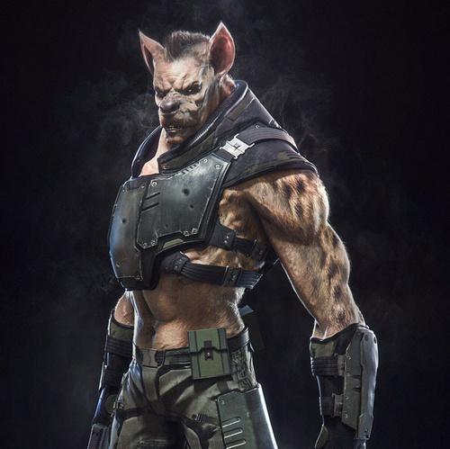 mutant hyena