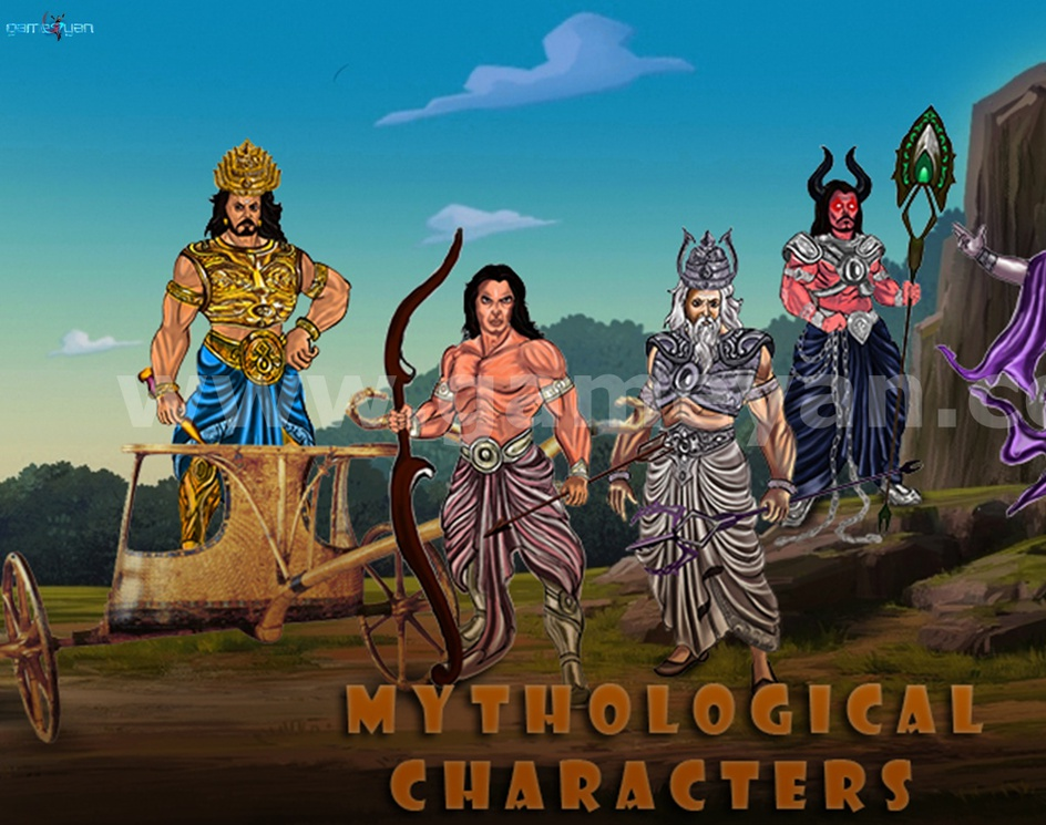 Mythological Characters Modeling Design by Game Art Outsourcing Studioby GameYan