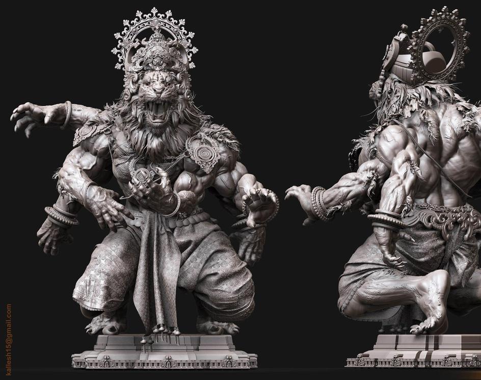 Narasmha Avatarby Kallesh Thippeswamy
