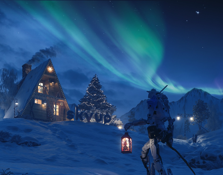 Christmas Time at very Northby mauro baldissera