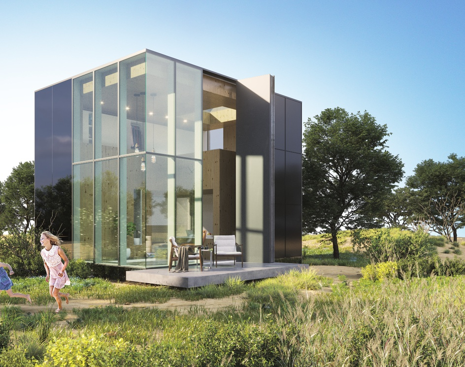 House in Nature in Netherlandsby DEER Design