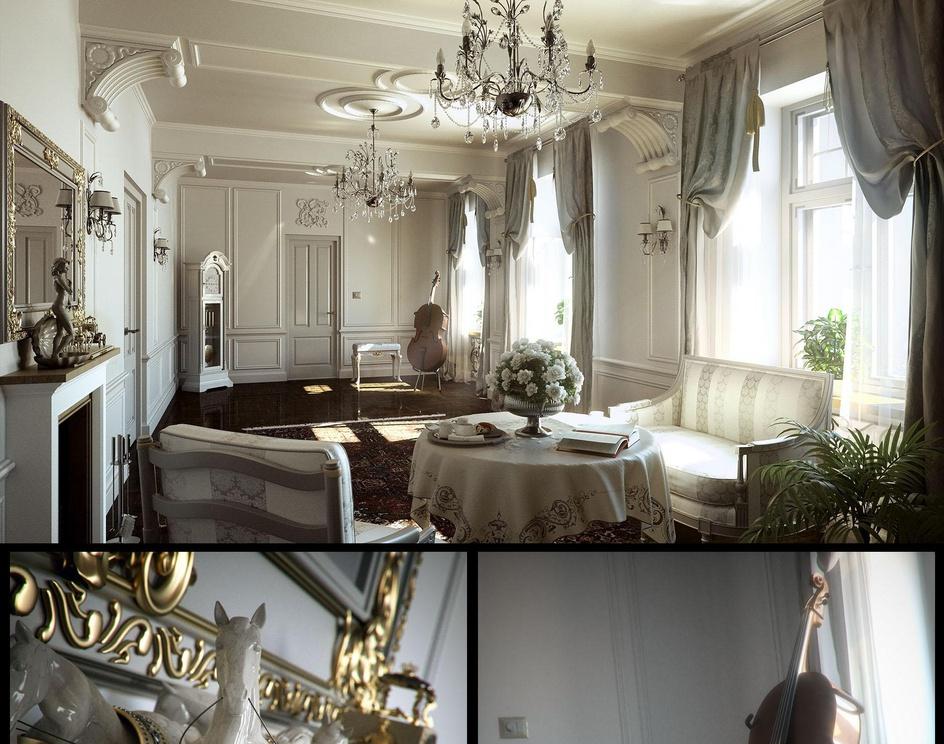 Classic interiorby Marcin Jastrzebski