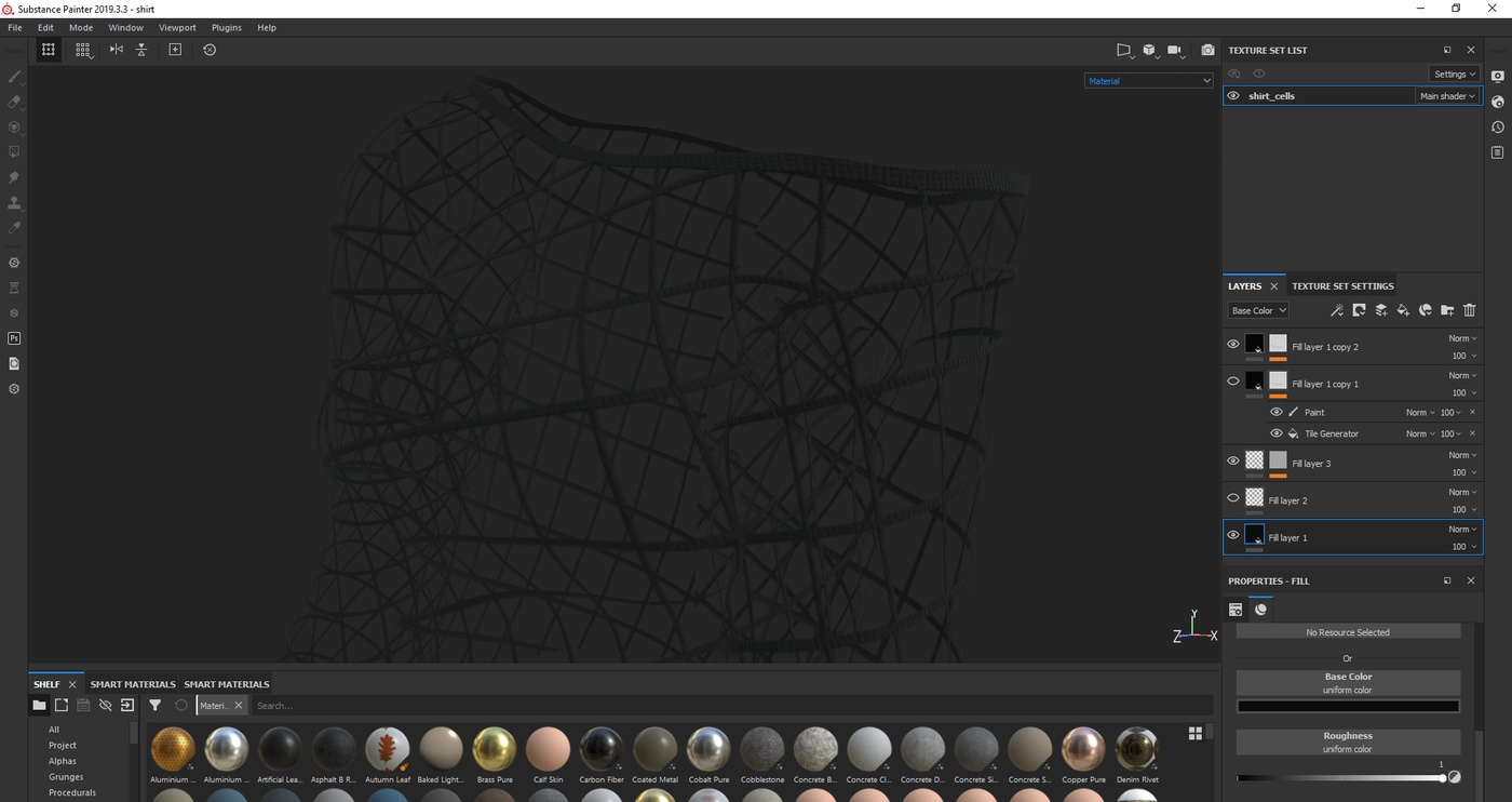creating clothing 3d render model