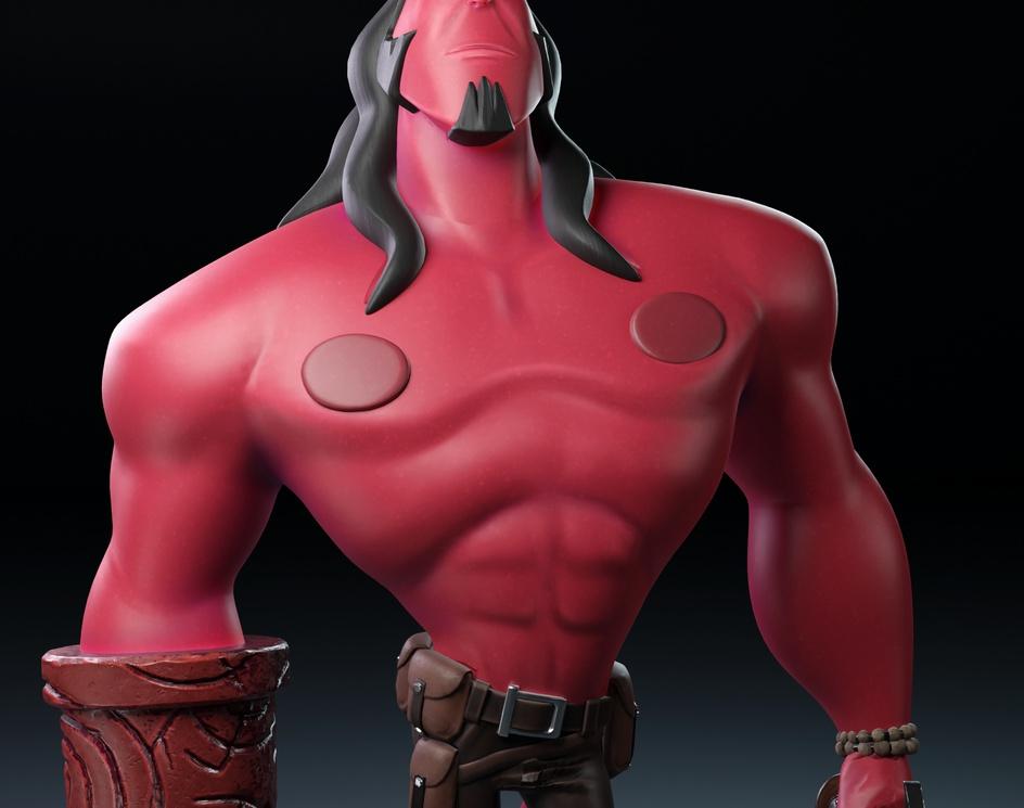 Hellboy Fan Artby Leo Penaranda