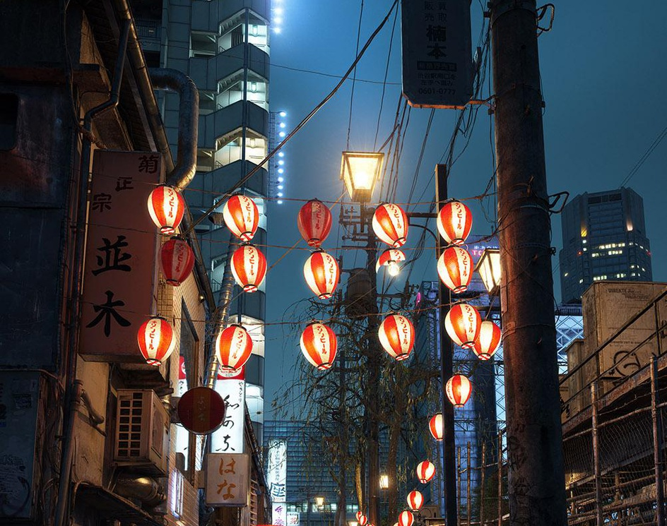 Go home late (Tokyo 2007)by nhanle