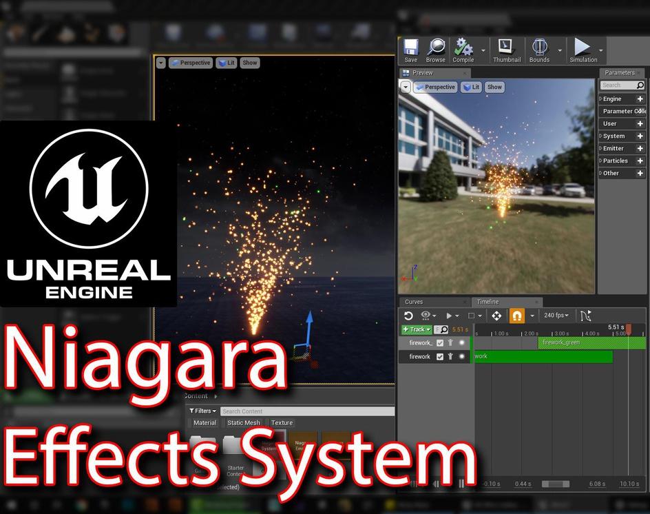 Niagara Effect system in Unreal engine | Part 01 |by Ashif Ali