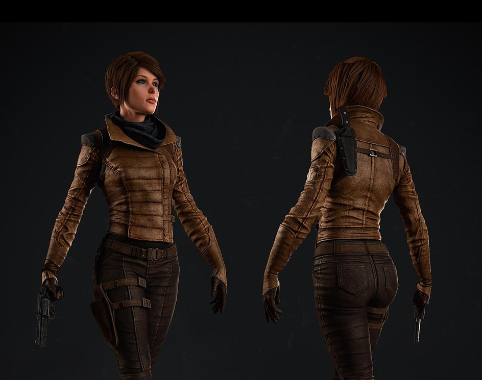 Female Character Projectby Nicole P