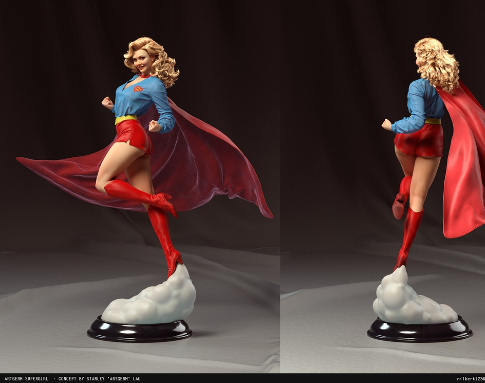 Supergirlby Nilberto Tawata