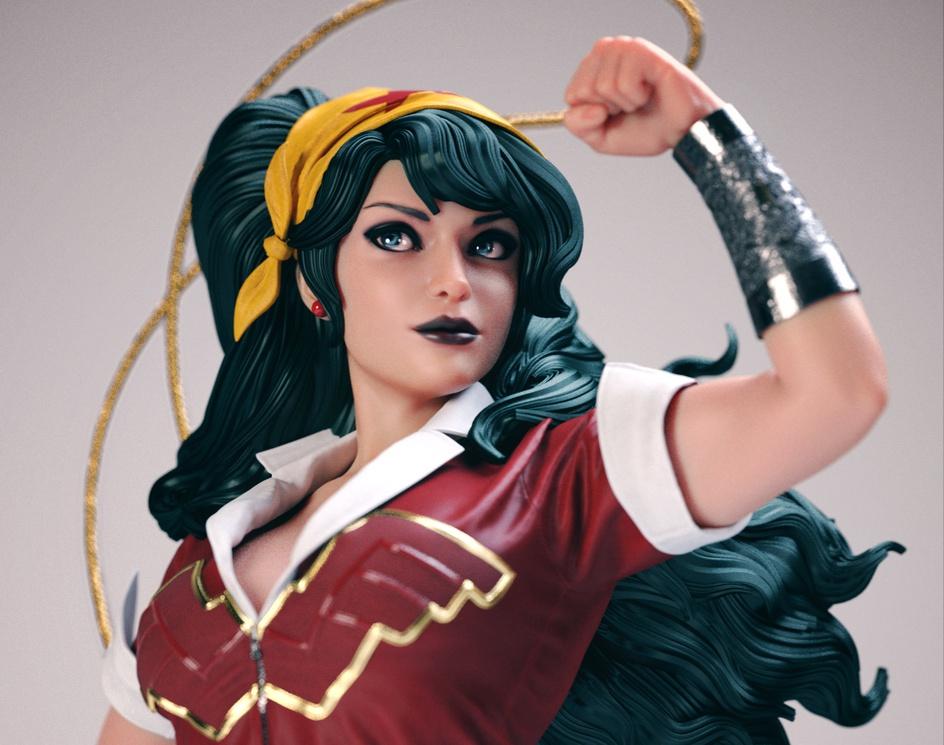 Wonder Womanby Nilberto Tawata