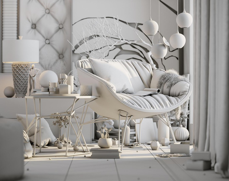 Luxury Bedroomby Fadi Al Sharif