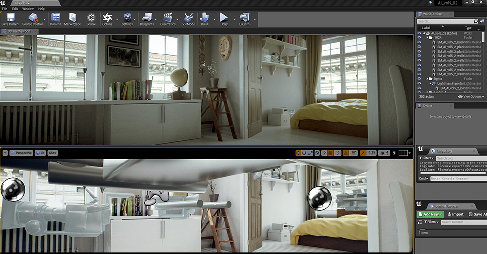 OctaneRender for Unreal Engine · 3dtotal · Learn | Create