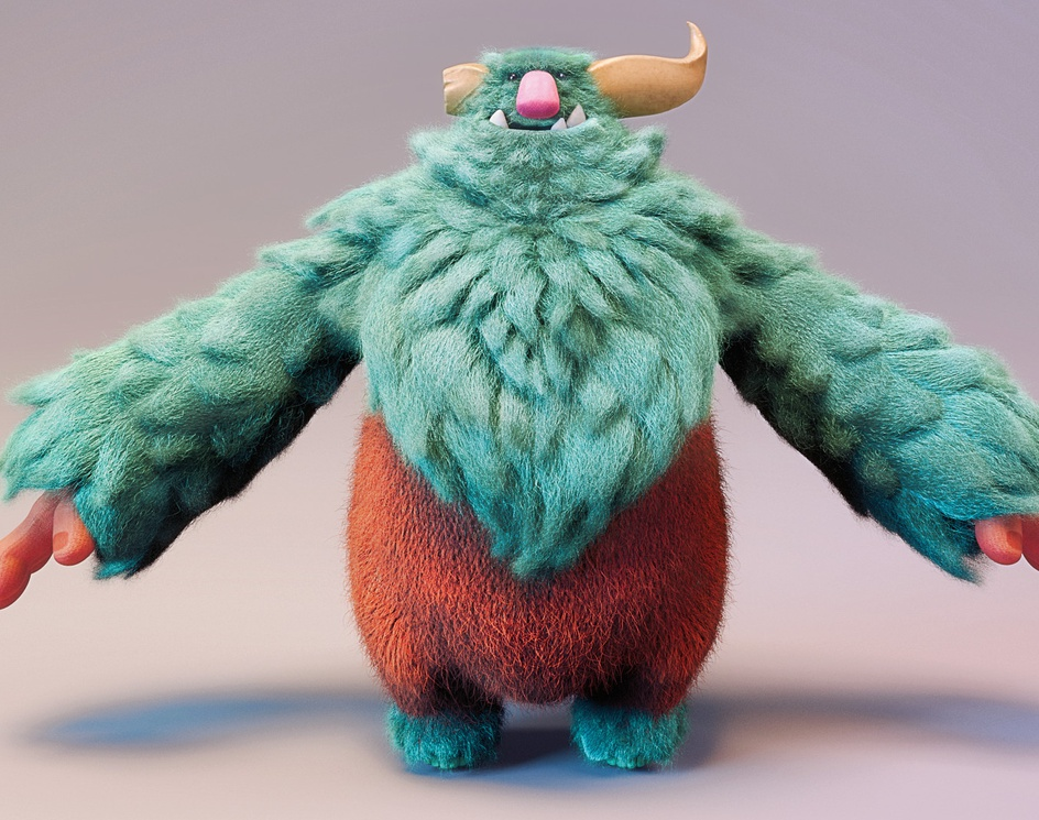 Bruffles the Cute Monsterby Oğuzhan Cihangir