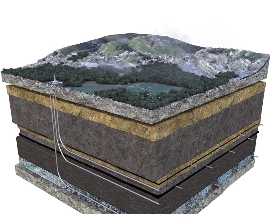 Geological Cross-Section for Geoscienceby TuiSpace Houston