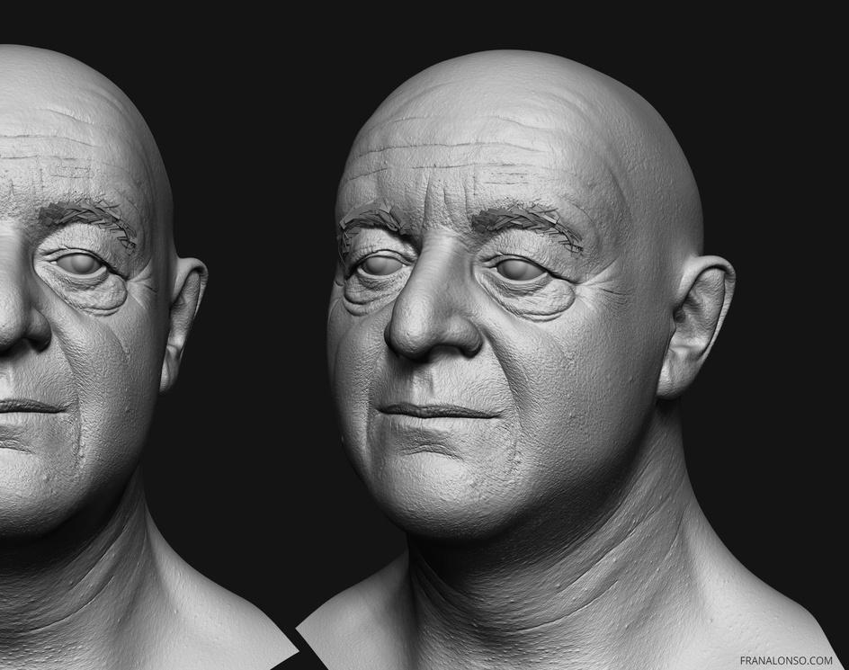 Old man portraitby fran_alonso