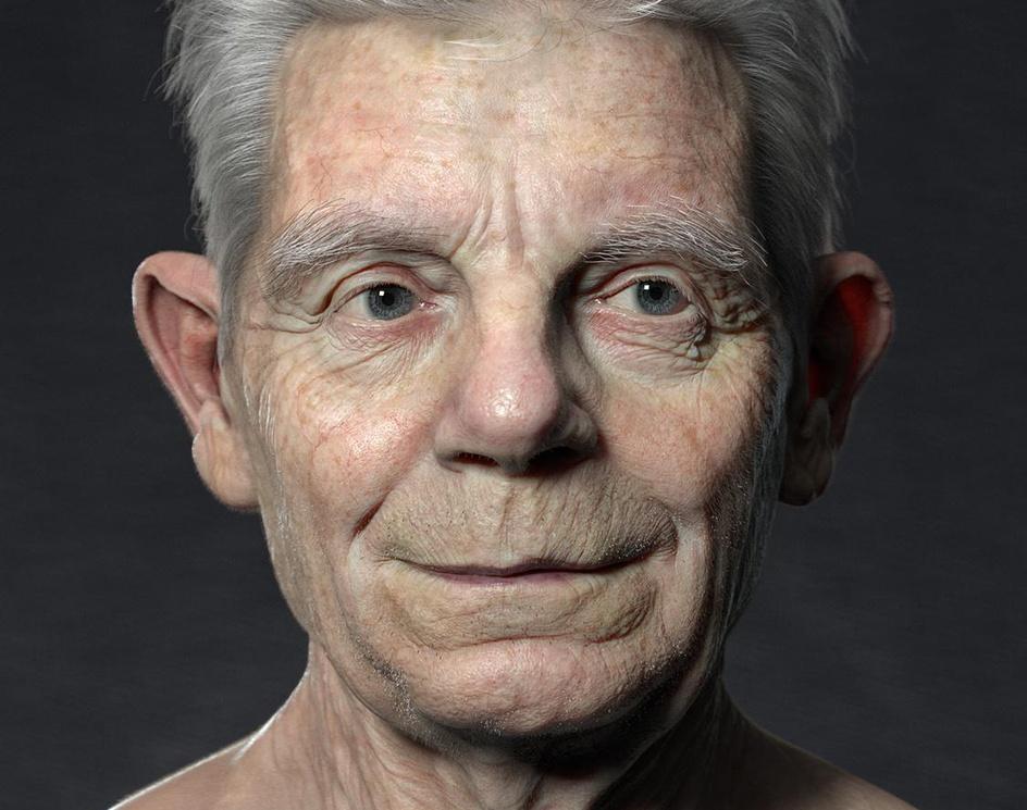 An old manby jinjian