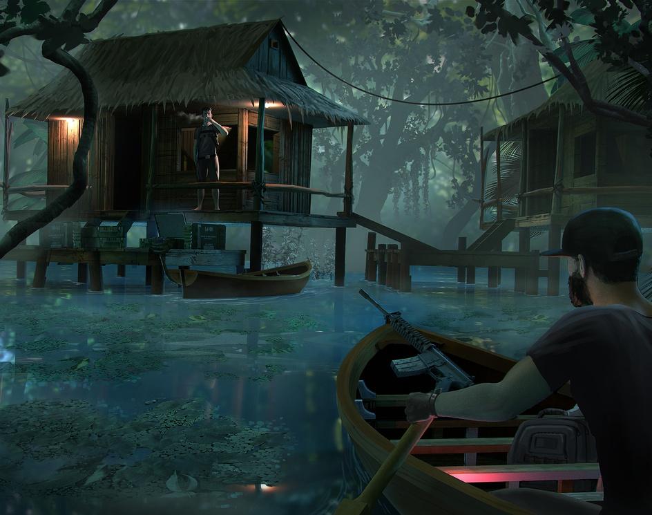 Operators: swamp cabinby Danny kundzinsh